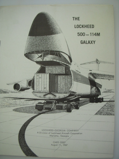 Image for The Lockheed 500 --114M Galaxy  (CMED G027  August 11, 1967)