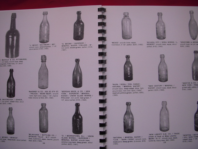 Image for Digger Odell's Official Bottle and Glass Collector Magazine Price Guide; Volume 7 Sodas and Mineral Waters