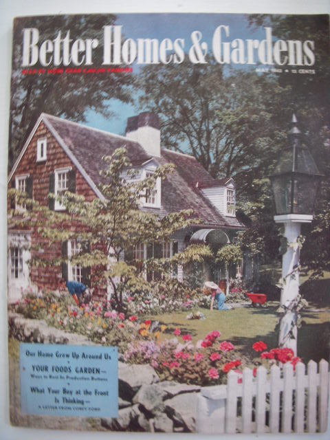 Image for Better Homes  & Gardens Magazine May 1943